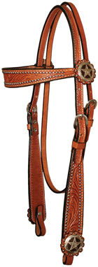 flared_iron_star_browband_headstall